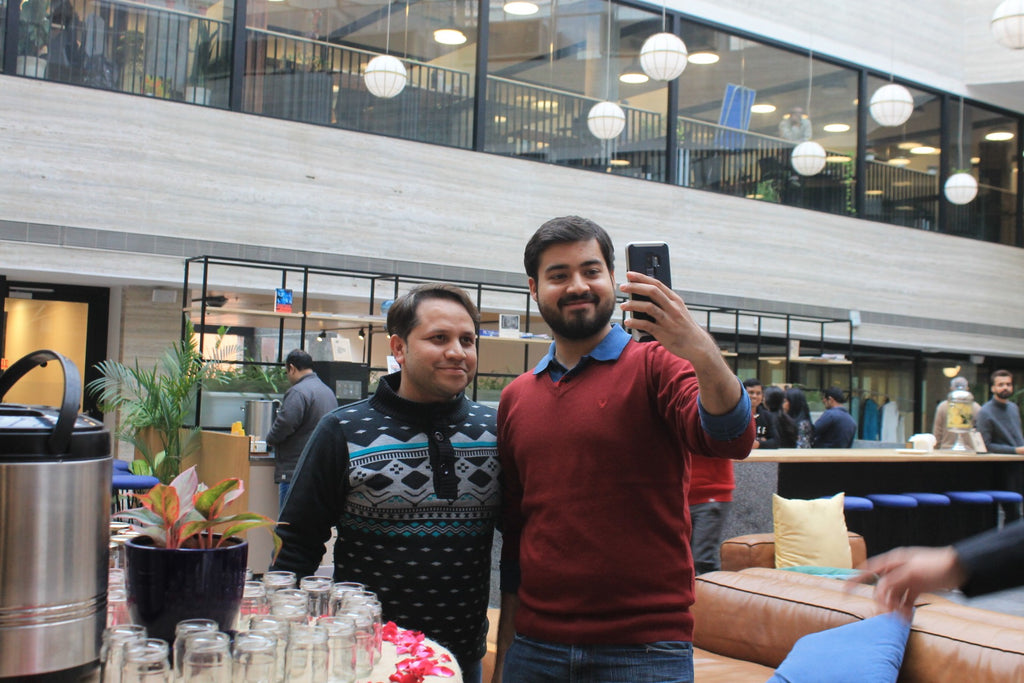 Devang Hot Chocolate Bar at Wework