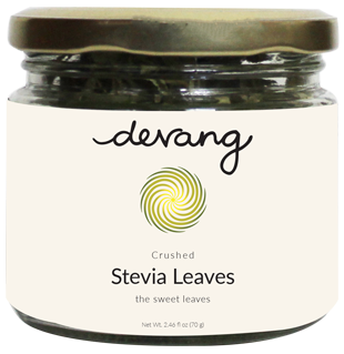 Crushed Stevia Leaves