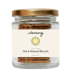 Oat & Almond Biscuits