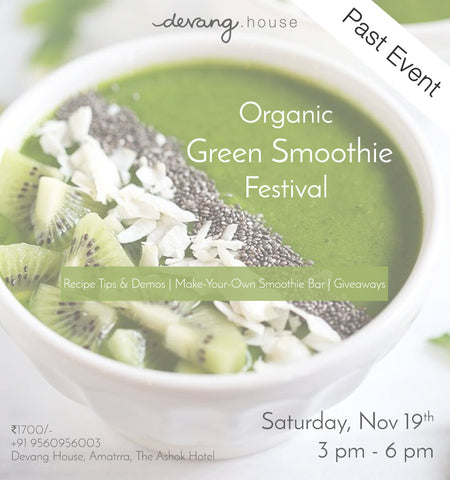 Organic Green Smoothie Festival