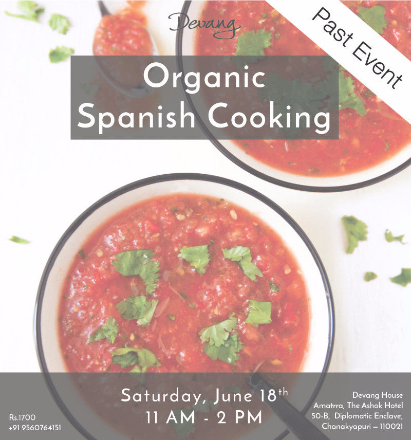 Organic Spanish Cooking