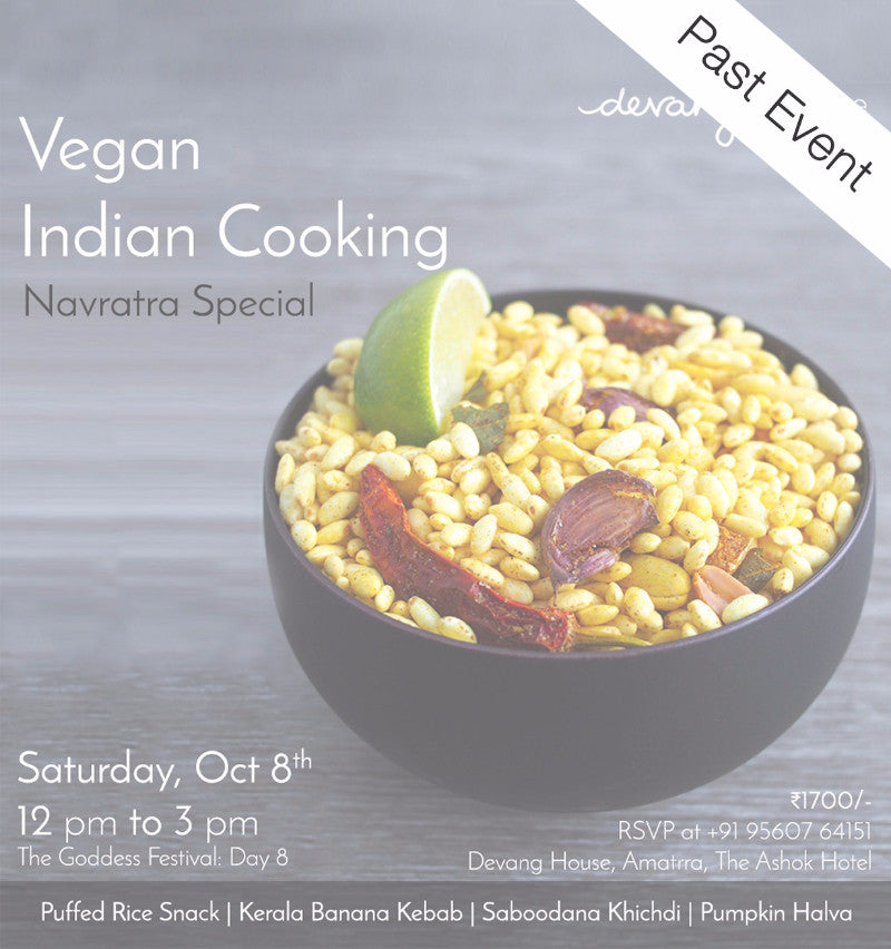 Vegan Indian Cooking: Navratra Special