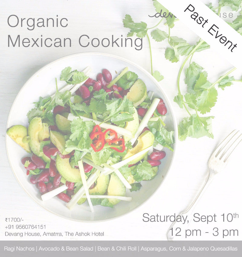 Organic Mexican Cooking
