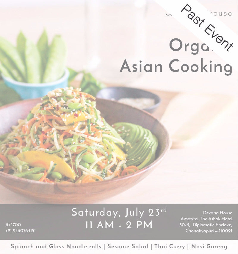 Organic Asian Cooking