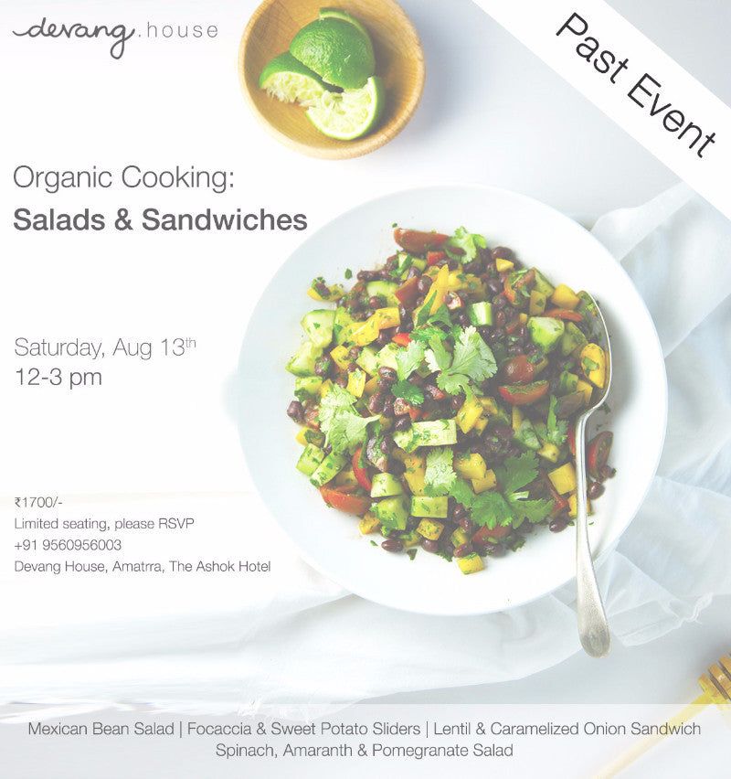 Organic Cooking: Salads & Sandwiches