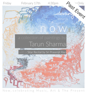 a collection of paintings by Tarun Sharma