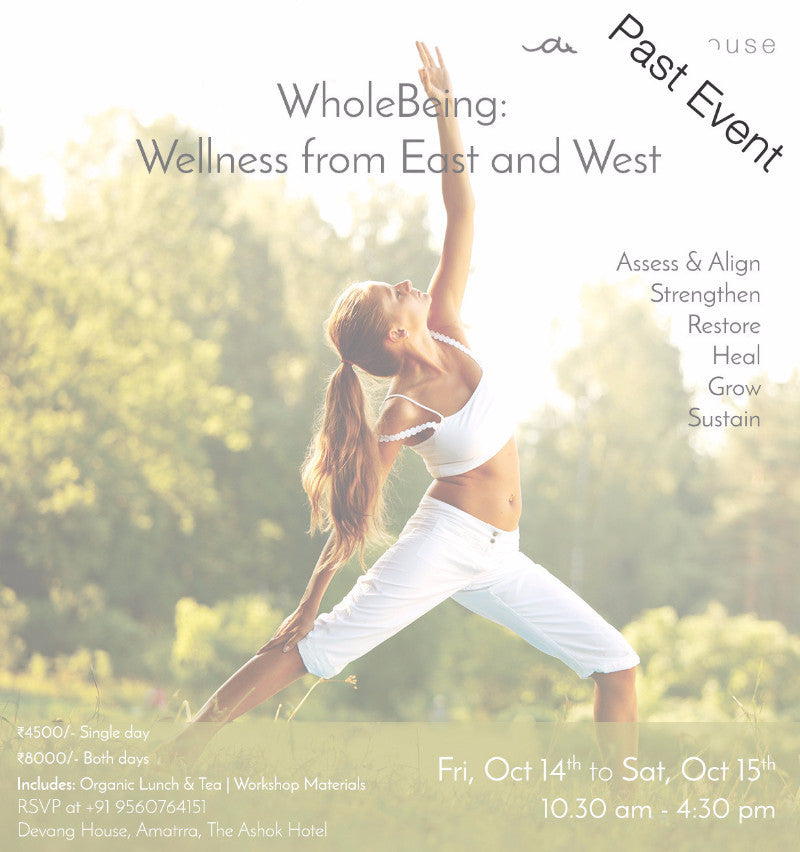 WholeBeing:  Wellness from East and West