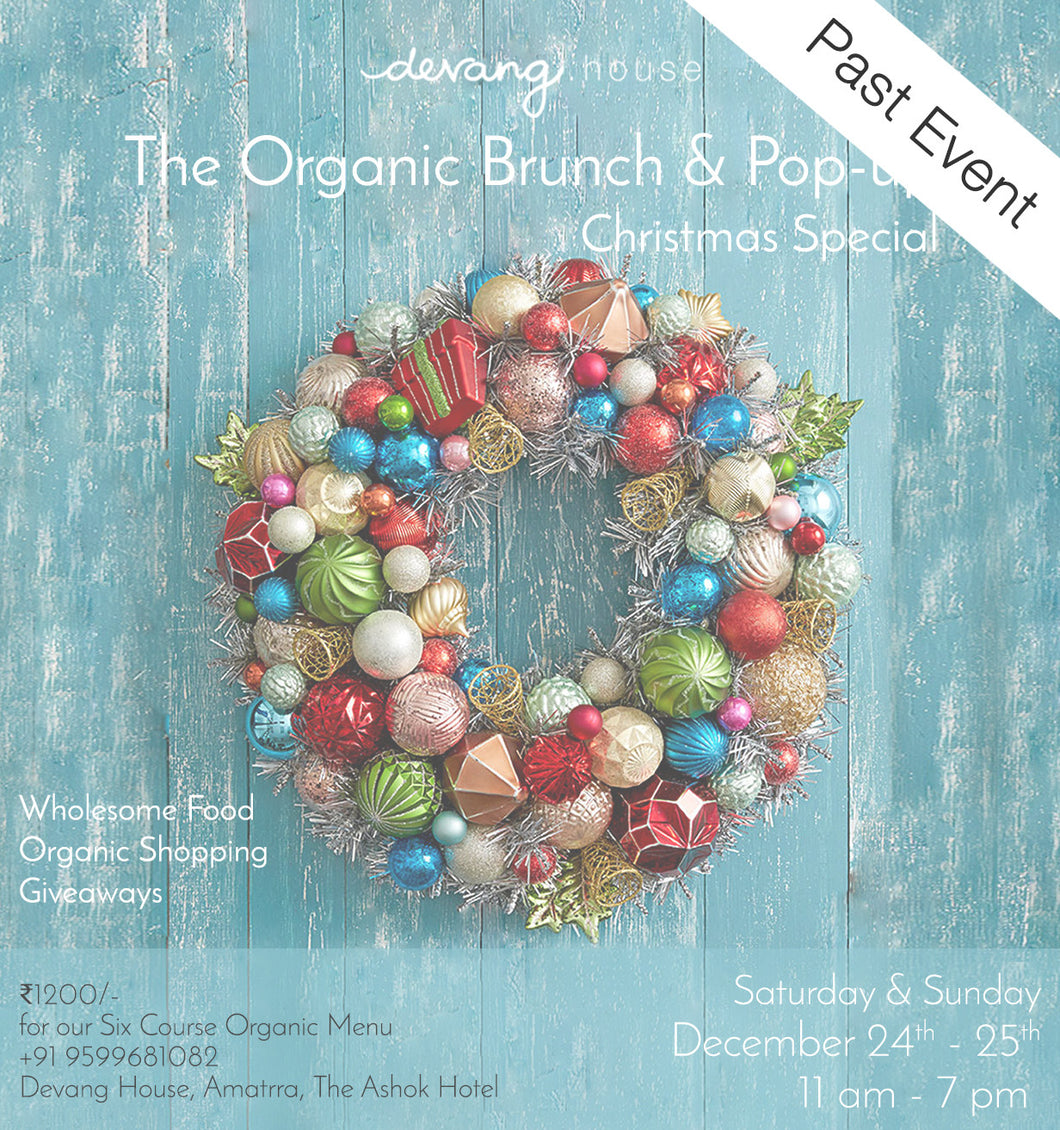 The Organic Brunch & Pop-up: Christmas Special