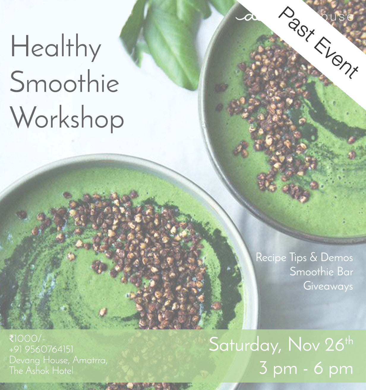 Healthy Smoothie Workshop