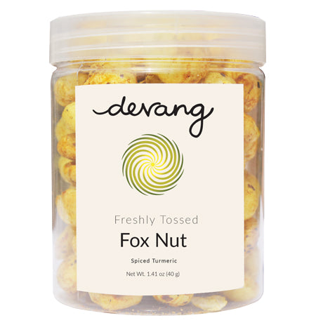 Spiced Turmeric Fox Nut