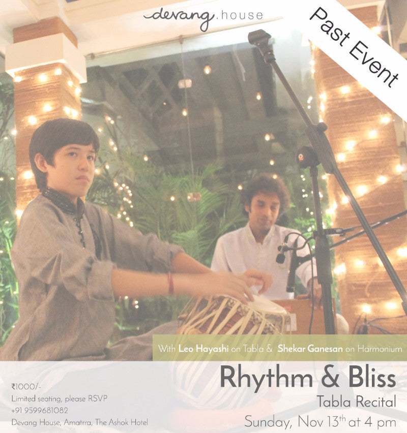 Rhythm & Bliss : Tabla Recital