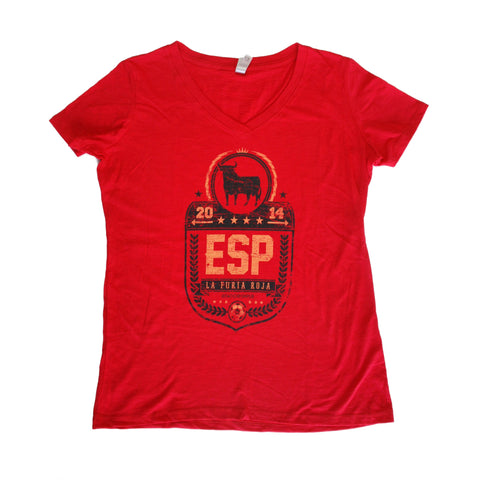 World Cup 2014 Spain - Women's V-Neck