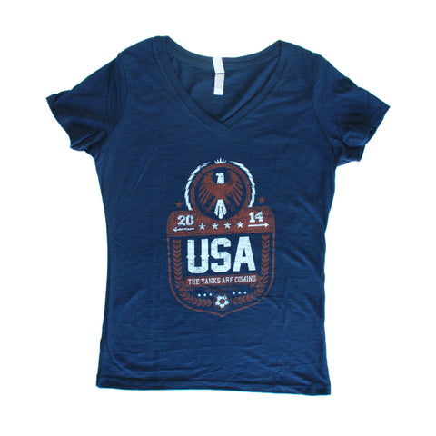 World Cup 2014 USA - Women's V-Neck
