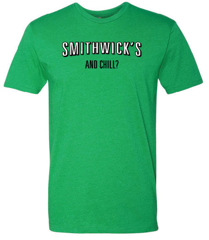 Smithwick's and chill? Drinking line t-shirt