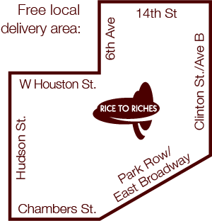 Rice To Riches location