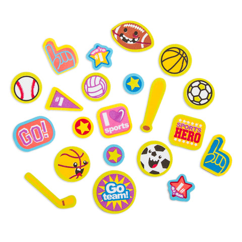 Assorted Foam Sports Sticker