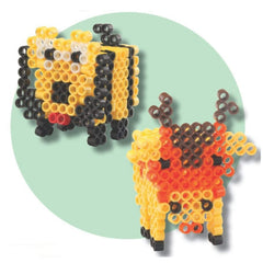 super beads the beads that fuse with water 3d animals set