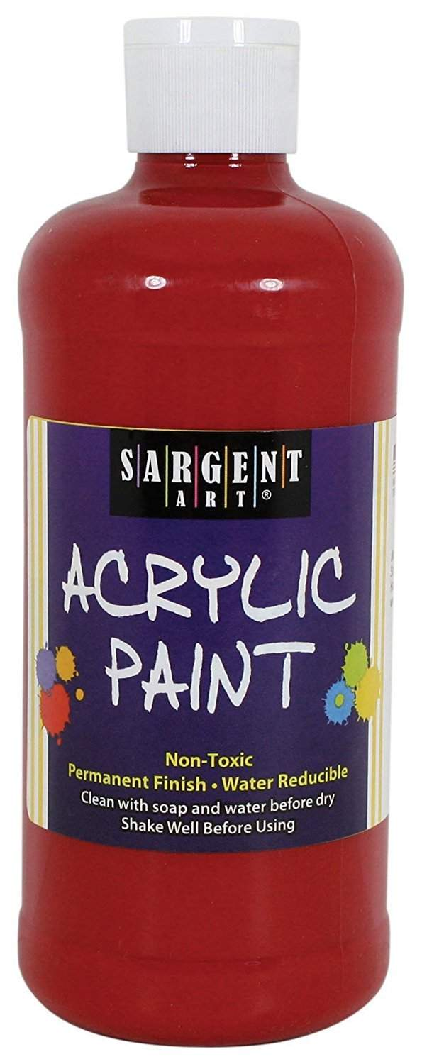 Sargent Art Acrylic Paint red