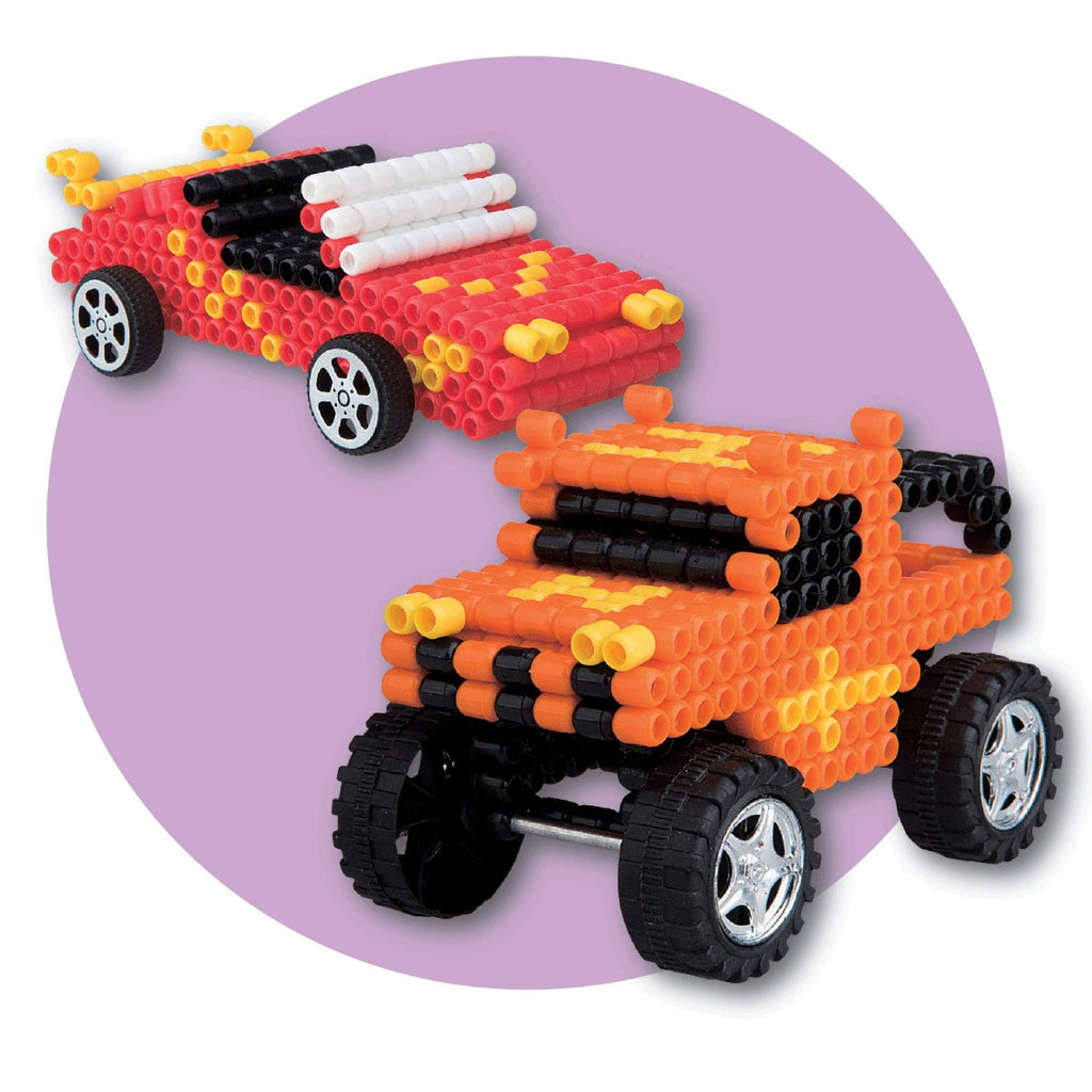 Super Beads 3D Car and Truck
