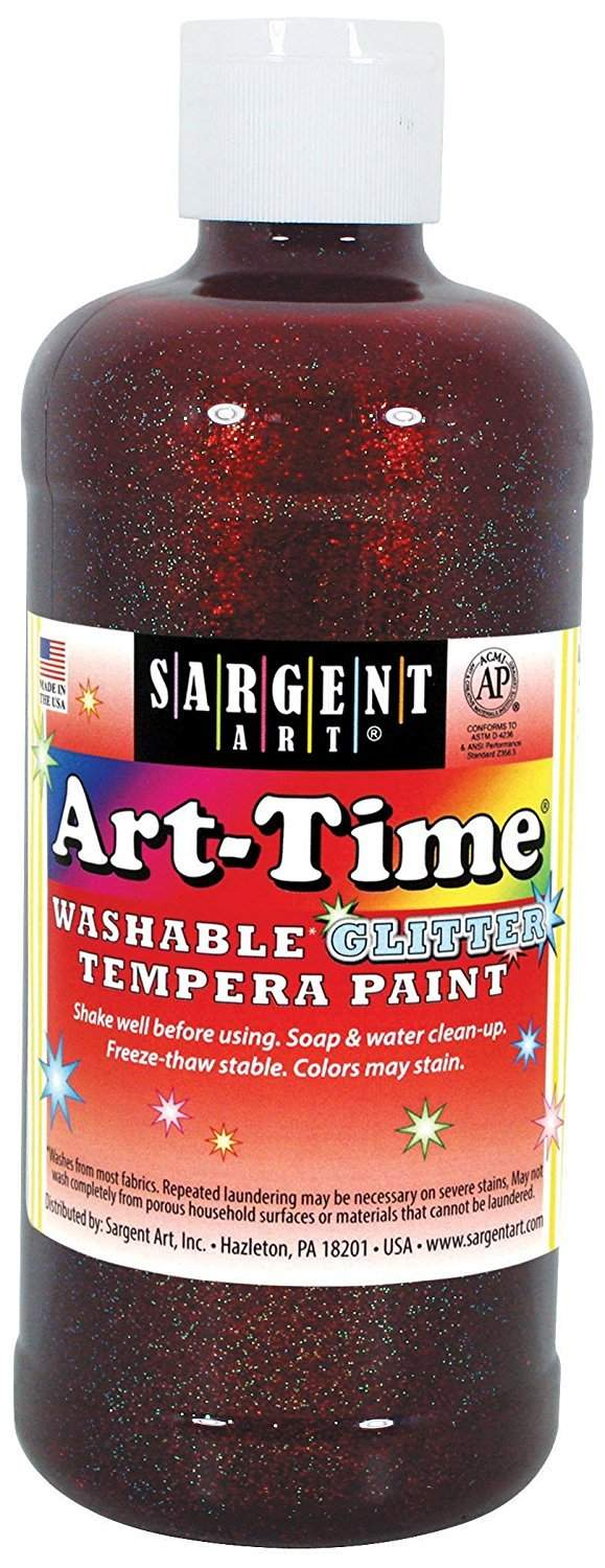 Sargent  Washable Glitter Tempera Paint