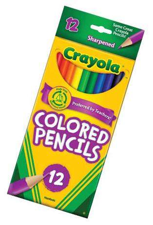 Crayola Colored Pencils Classic Colors