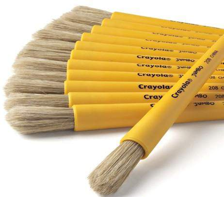 Jumbo Paint Brush for diy arts and crafts painting projects