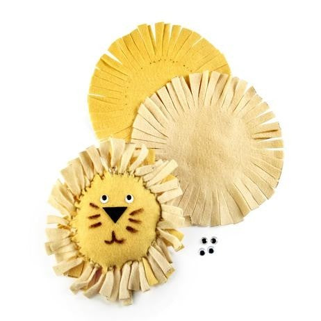 DIY Lion Pillow