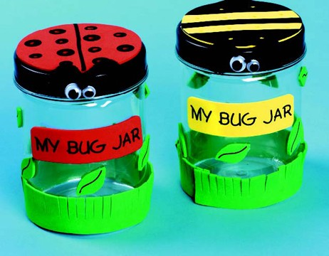 diy My Bug Jar Craft Kit