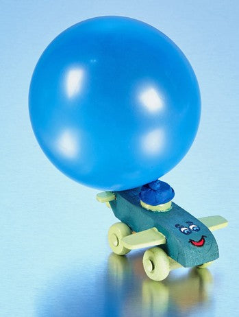 Balloon Airplane Racer