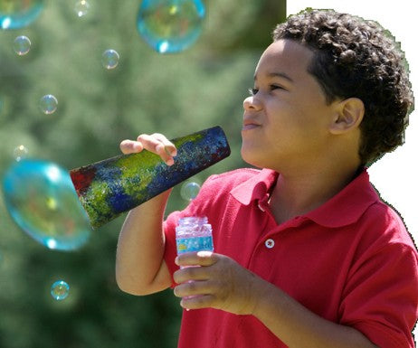 DIY Bubble Blower Craft