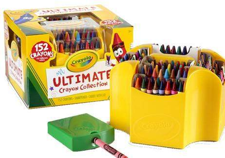 Ultimate Crayon Collection for coloring projects
