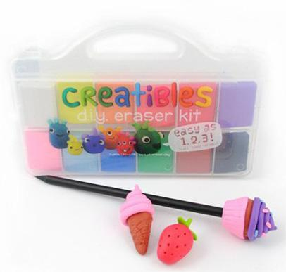 Creatibles Eraser Clay