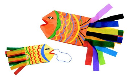 Fish Shaped Kite