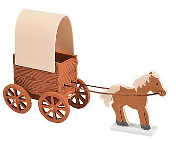 3D Horse and Buggy Craft Kit