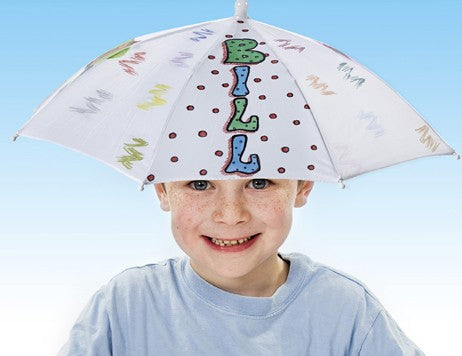 DIY Umbrella Hat