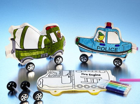 Magic Inflatable Rolling Cars