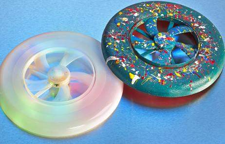 DIY Light-Up Frisbee