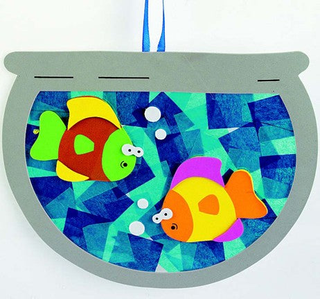 Tissue Paper Fishbowl