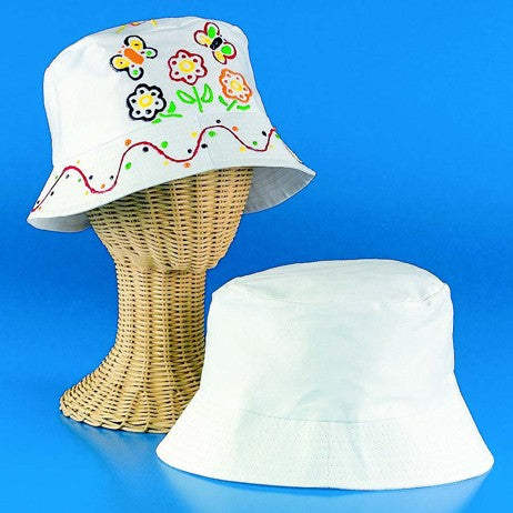 DIY Fabric Bucket Hats Craft