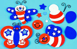 Stars & Stripes Bug Magnets