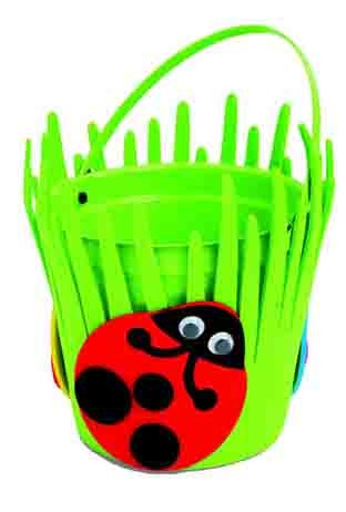diy Spring Ladybug Bucket Craft Kit