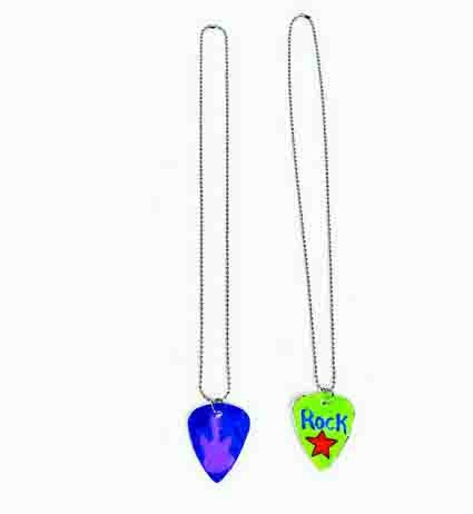 Design Your Own Guitar Pick Necklace