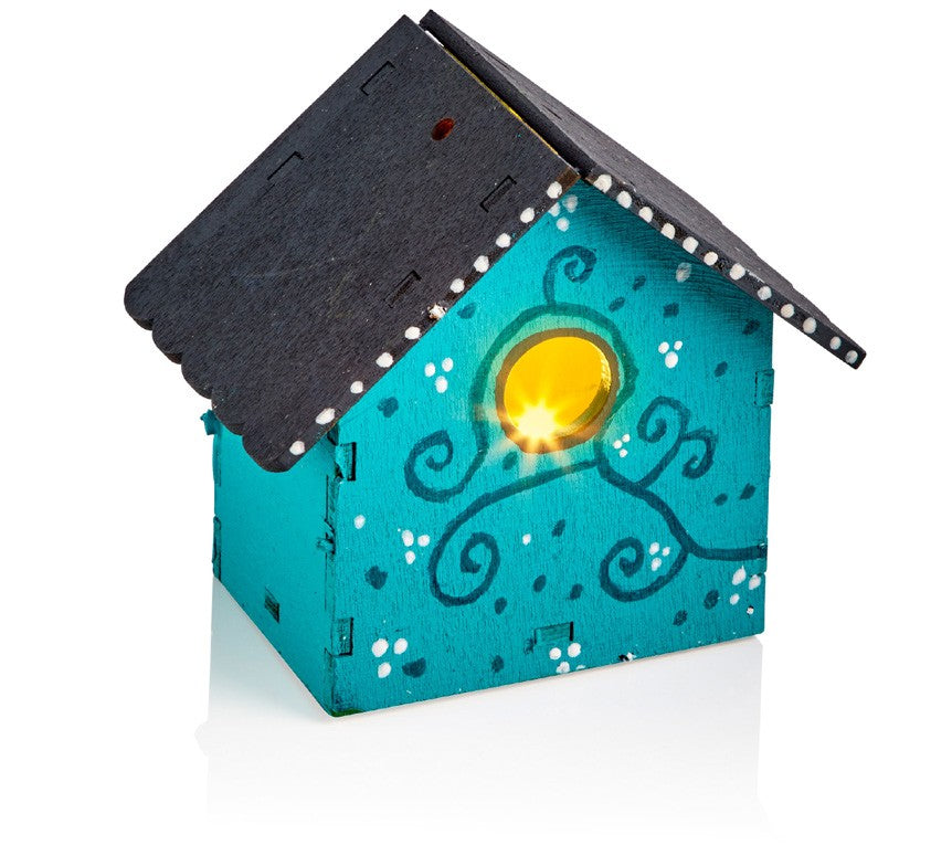 LED Birdhouse Nightlight