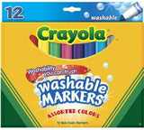 Crayola Washable Markers Classic Colors - 12 Pack