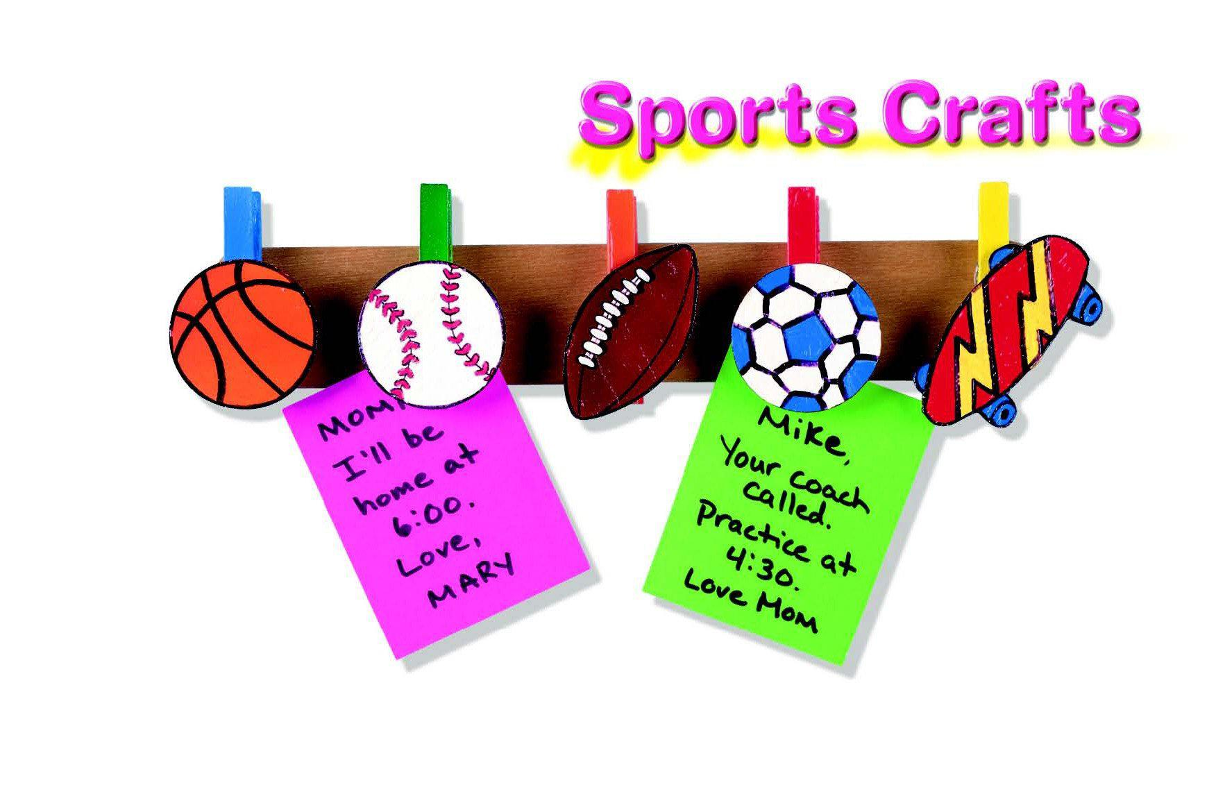 DIY Sports Message Board Craft Project
