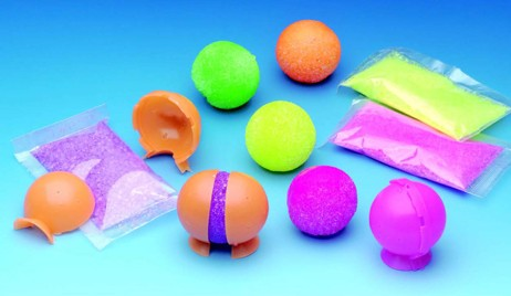 DIY Rubber Bouncing Balls Kit