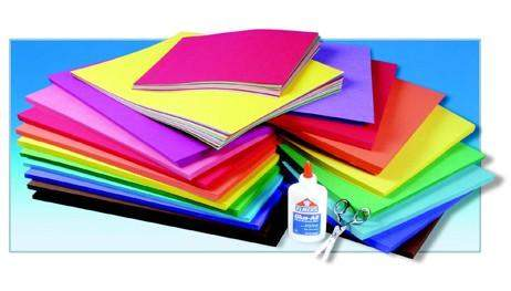 Heavyweight Construction Paper for arts and crafts projects