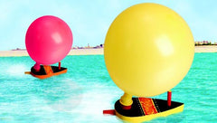 DIY Balloon Power Boats Craft Project