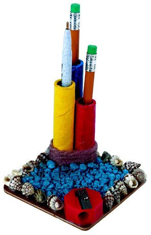 Pencil Holder With Sharpener