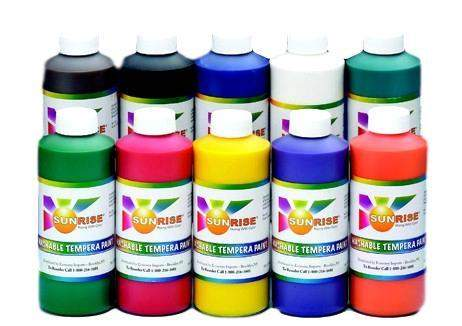 Sunrise Washable Tempera Paint - 16 oz